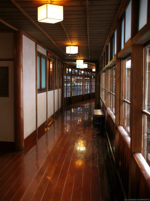 corridor of inn
